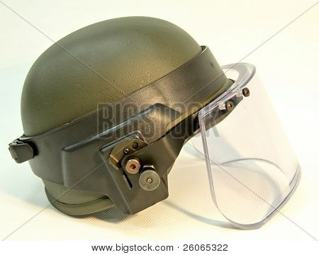 bullet-proof helmet