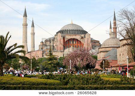 Hagia Sophia in Istanbul, Türkei.