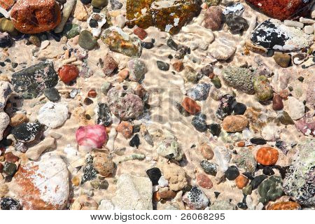 Pebblestone background