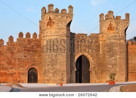 Chellah - roman buildings in Morocco, Rabat