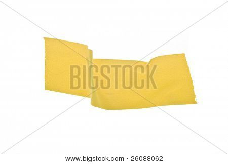 Yellow gaffers isolated on white