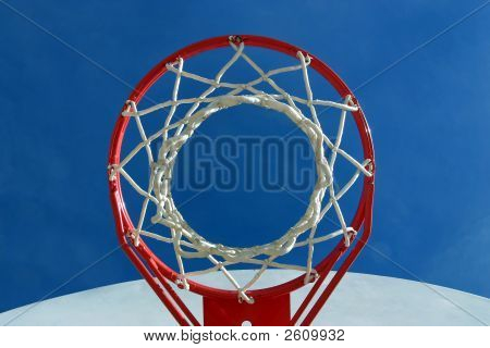 Hoop And Net From Below