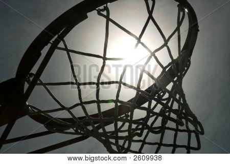 Basketball Hoop Kontur