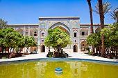 foto of shiraz  - Inside of  Khan School in  Shiraz - JPG