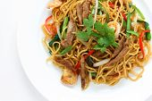 stock photo of chinese wok  - Stir - JPG