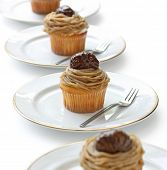 Mont Blanc aux Marrons , Chestnut Cream Cake
