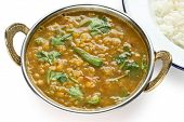 foto of tadka  - tarka dal  - JPG