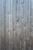 Weathered Gray Raw Wood Boards Background Wallpaper poster