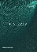 Quantum Computing Background. Technology For Big Data, Visualization, Artificial Intelligence And De poster
