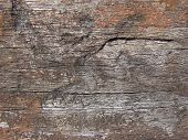 Weathered Timber Background poster