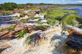 stock photo of canaima  - Waterfall at Canaima National Park - JPG
