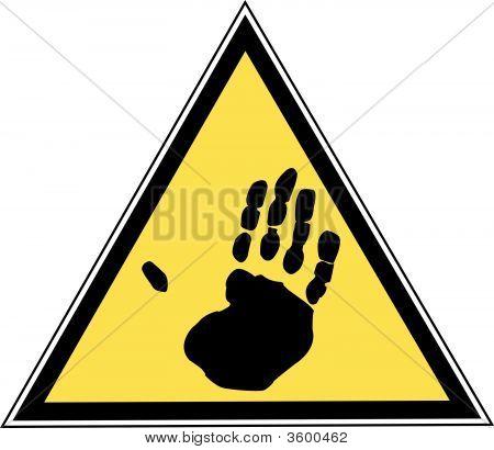 Sign Hand Print.