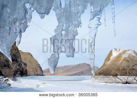 Baikal In Winter