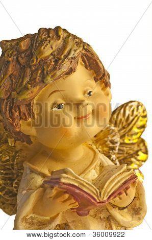 Angel sings