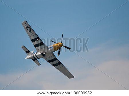 P-51D Mustang plane