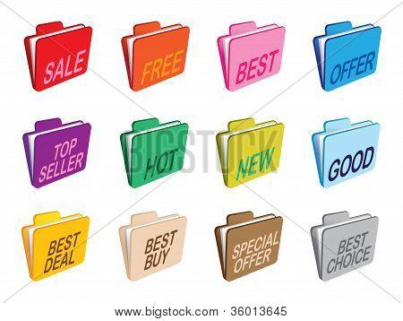 Folders Set