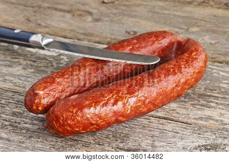 Sausage Kabanos Of Hungary