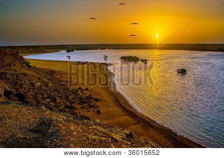 Punta Gallinas Sunrise