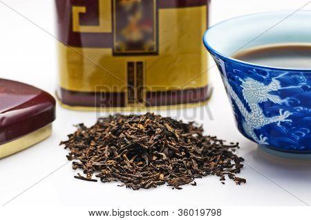 Chinese Pu-erh tea