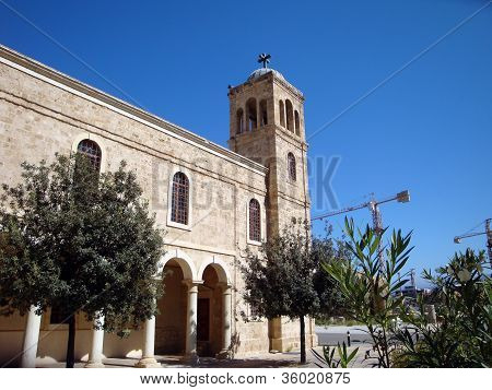 Church In Downtown Of Beirut