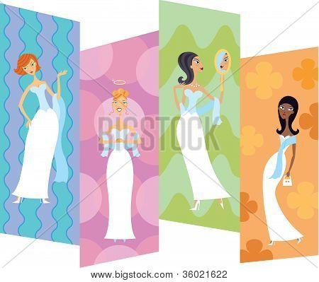 Four Bridesmaids