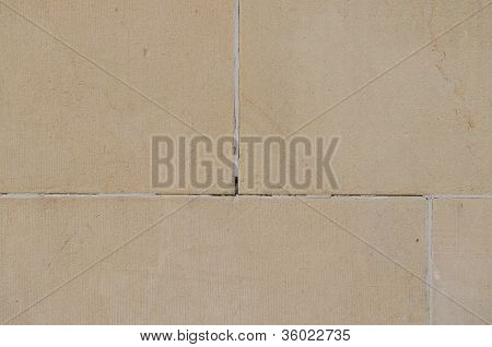 Sandstone With Joints