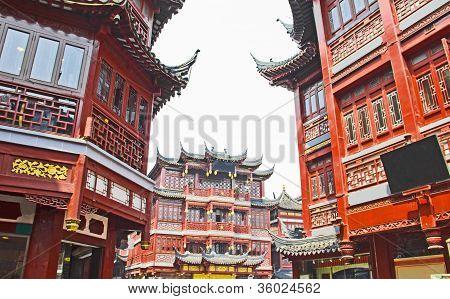 Shanghai old town, Yuyuan gardens