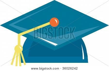 Illustration Of A Graduation Cap