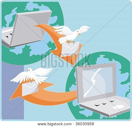 Sending E-greetings Across The Globe Via The Internet