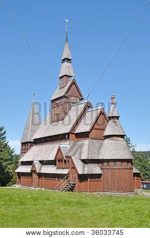 Stave Church,Hahnenklee,Harz Mountain