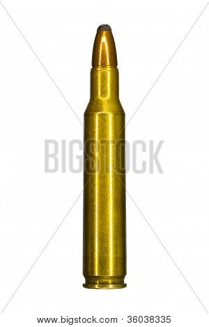 Single assault rifle bullet