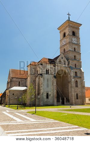 Roman Catholic Cathedral In Alba Iulia