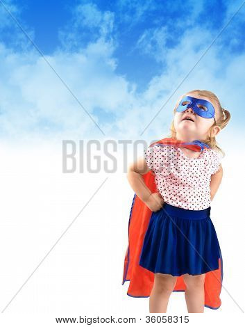 Little Super Hero Rescue Child