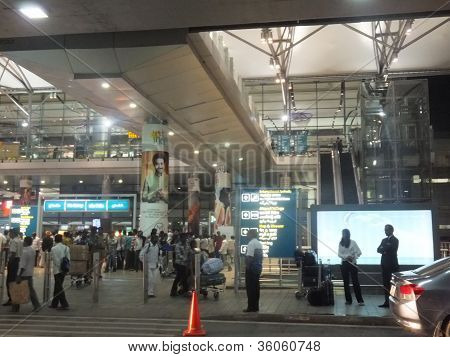 Rajiv Gandhi International Airport in Hyderabad, India