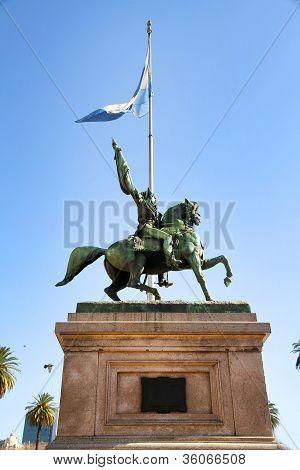 Statue Of Manuel Belgrano