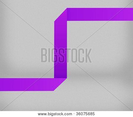 Violet Origami Background