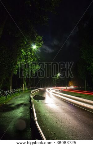 Night Traffic Light