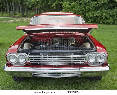 1962 Chevy Biscayne Front