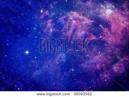 Being shone nebula