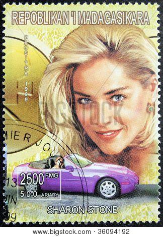 Sharon Stone Stamp