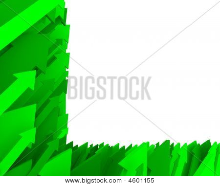 Green Arrow Background - Partial