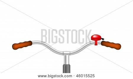 Handlebar of a bicycle and bicycle bell
