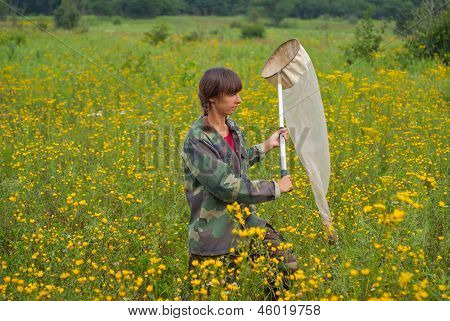 Woman Entomologist