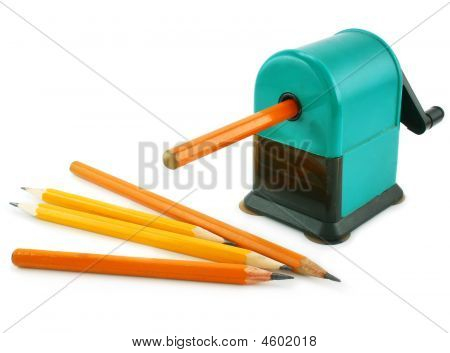 Grinding Manual Machining Mechanical Pencil Sharpener And Pencils