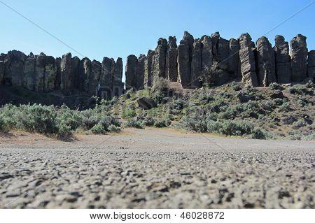 Columnar Basalt Pillars