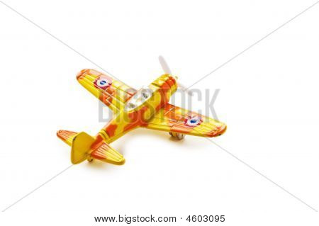 Model Of The Military Plane.