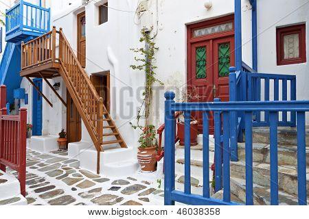 Mykonos islands in Greece