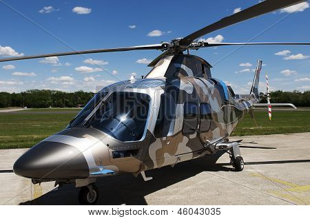 Camouflage Helicopter