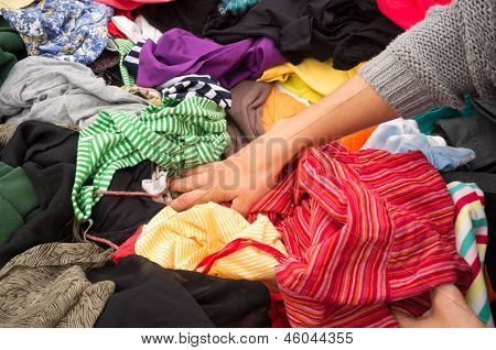 Venda do Jumble Stall