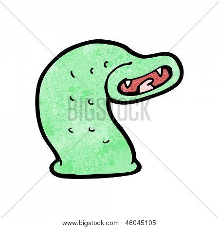 cartoon giant leech